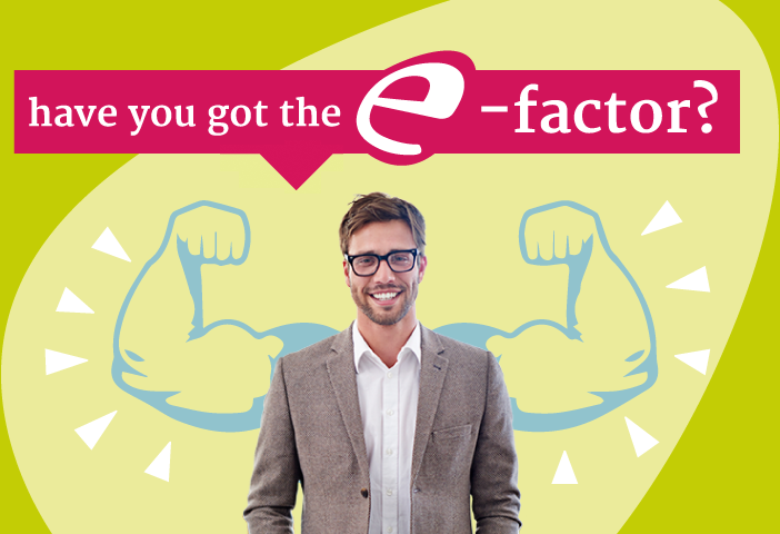 have you got the E-factor?